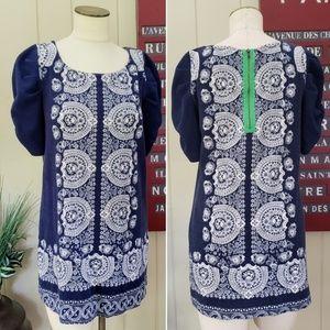 Akemi + Kin   Anthropologie   M puffy sleeve dress